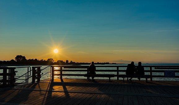 Sunset, Mood, Sky, Dusk, Sun, Lighting, Rest