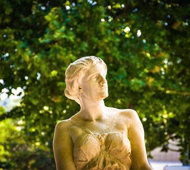 Statue, Bust, Head, Marble, Granite, Figure, Sculpture