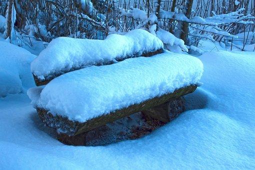 Bank, Park Bench, Sit, Rest, Park, Seat, Nature, Wood