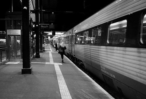Train, Railway Station, Travel, Transport, Traffic
