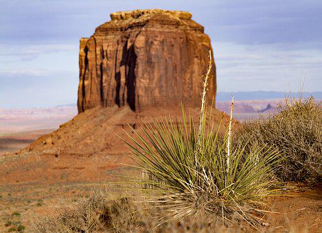Monument Valley, Arizona, Utah, Kayenta, Desert, Rock