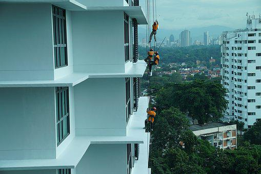Building Maintenance, Job In The Air, Safety First
