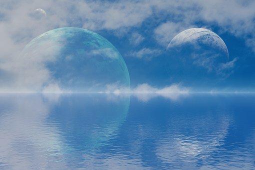 Planet, Planets, Horizon, Solar, System, Fantasy, Sci