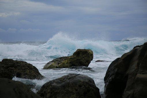 Beach, Marine, Sea, Sea Reef, Taiwan, The Pacific Ocean