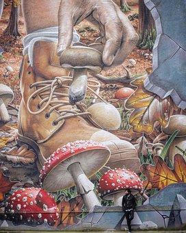 Graffitti, Art, Grafitti, Artistic, Street, Modern