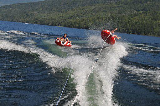 Tubing, High Speed, Wipeout, Shuswap, Uh Oh, Action
