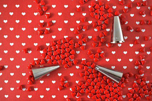 Valentine's Day, Valentine, Valentines, Red, Hearts