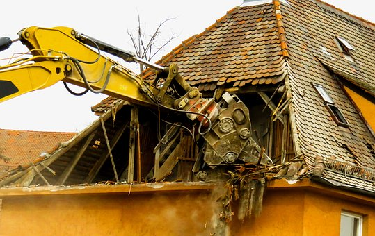 Architecture, Building, House, Demolition, Old, Ruin