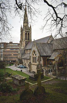 St Peter's Church, Bournemouth, Architecture, England