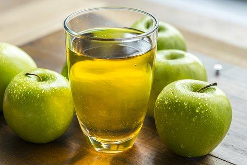 Apple, Apple Cider, Apple Juice, Beverage, Closeup