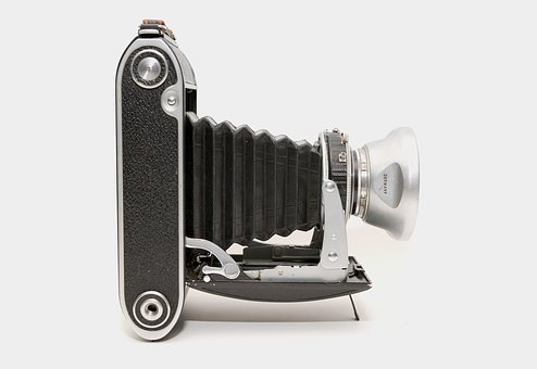 Vintage, Camera, Old, Voigtlander, Bessa, Gear, Film