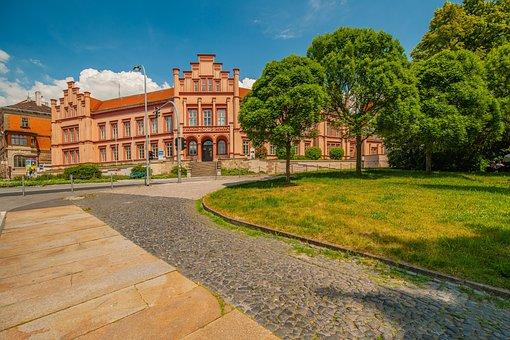 Zittau, Saxony, City, Architecture, Historic Center