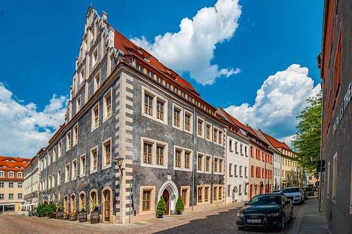 Pirna, Saxony, Germany, City, Building, Historic Center