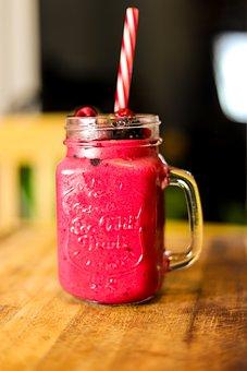 Smoothie, Fruit, Raspberry, Drink, Health, Healthy