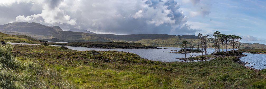 Scotland, Hole, Scottish, Landscape, Water, Highlands