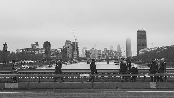 London, Westminster, Bridge, Street, View, Urban