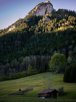 Germany, Hiking, Nature, Landscape, Mountains, Pfronten