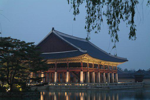 Gyeongbok Palace, Palace, Traditional, Korea
