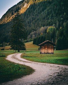 Germany, Pfronten, Mountains, Landscape, Hiking, Allgäu
