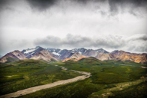 Clouds, Storm, Alaska, Rain, Dramatic, Storm Clouds