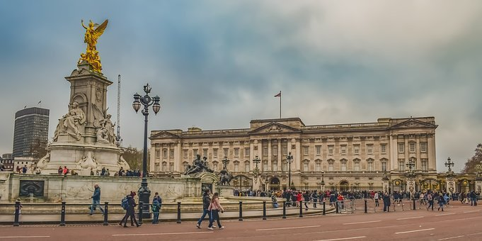 Buckingham Palace, Square, Statue, Monument, Sculpture