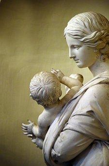 Statue, Marble, Sculpture, Pierre, Angel, Antique