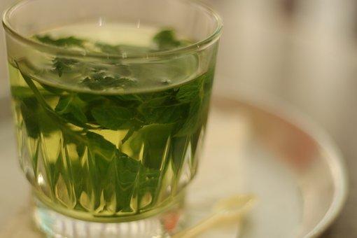 Tea, Herbal Tea, Drink, Healthy, Leaves, Peppermint