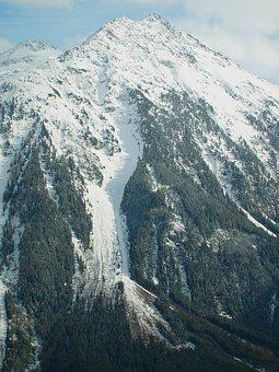 Mountain, Avalanche, Snow, Cold, Skiing, Track, Winter