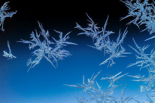 Eiskristalle, Winter, Frost, Frozen, Wintry, Crystals