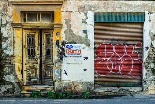 Old House, Facade, Building, Abandoned, Decay, Grunge