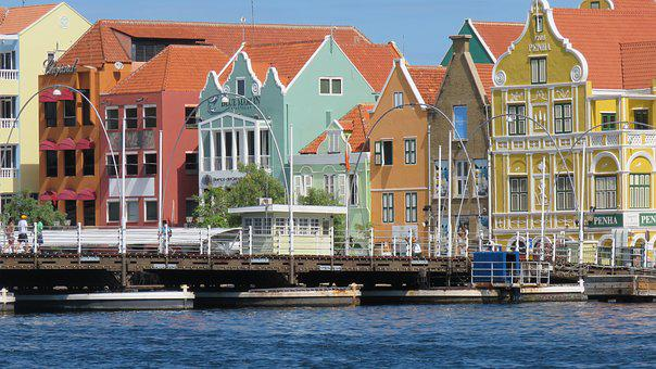 Curacao, City, Color, Architecture, Colorful, Colors