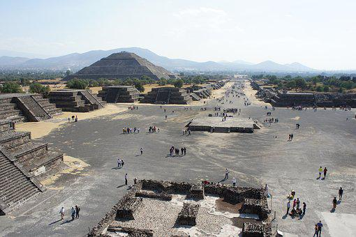 Teotihuacan, Archeology, Mexico, Architecture, Old