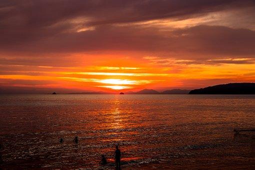 Thailand, Beach, Ocean, West, Sand, Water, Holidays