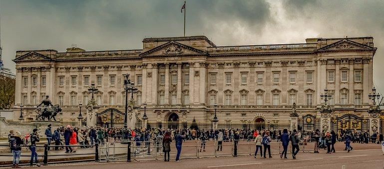 Buckingham Palace, Square, London, Architecture