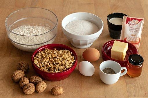 Flour, Egg, Cake, Ingredients, Bake, Sugar, Butter