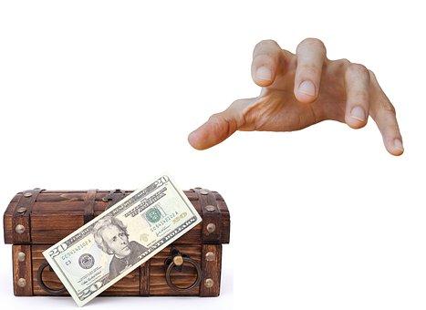Stealing, Money, Cash, Dollar, Case, Thief, Theft