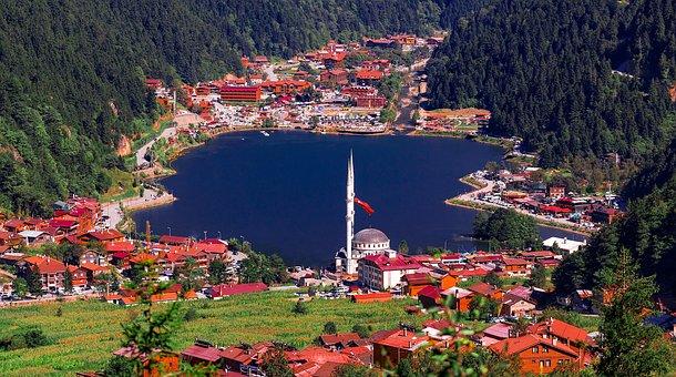 Uzungol, Lake, Caykara, Trabzon, Long Lake, Lacquer