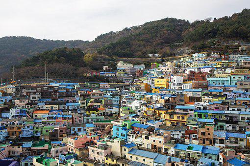 Gamcheon Village, Busan, City, View, La Spezia