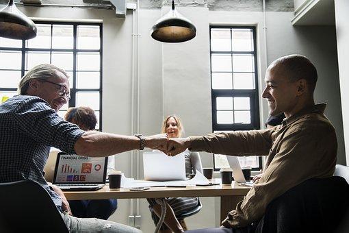 Achievement, Agreement, Business, Colleagues