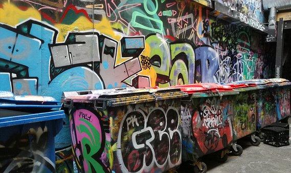 Graffiti, Street Art, Mural, Creative, Colorful