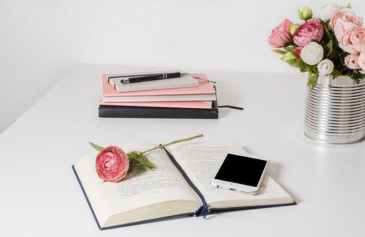 Work, Apple, Business, Office, Desk, Technology, Pen