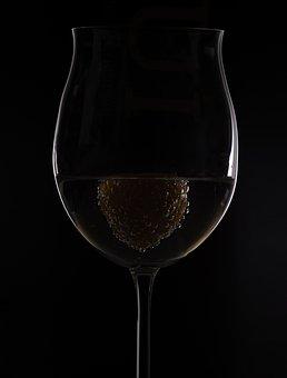 Strawberry, Glass, Wine Glass, Fruits, Dessert, Drink