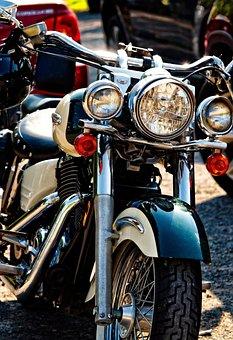 Harley Davidson, Engine, Motorcycle, Harley, Chrome