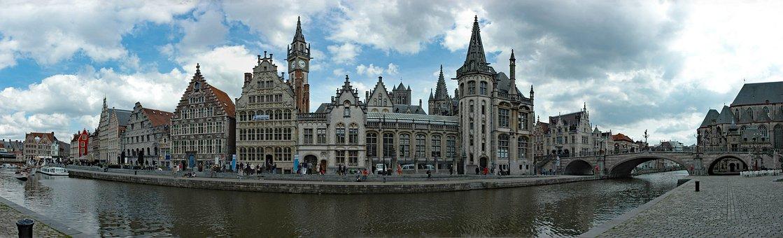 Belgium, Flanders, Gent, Historically, Building, City