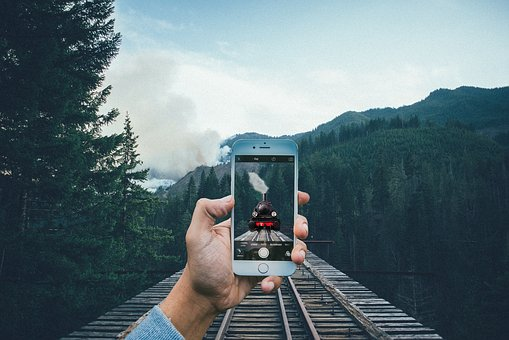 Train, Iphone, Smartphone, Move