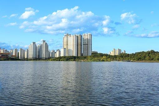 Optical School, Lake Park, Apartments, Lake, City