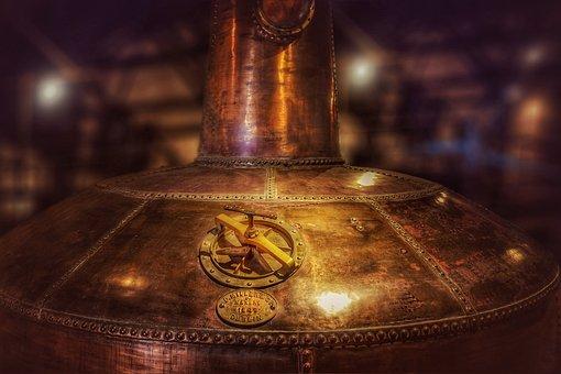 Copper Boiler, Distillery, Whisky, Museum, Dublin