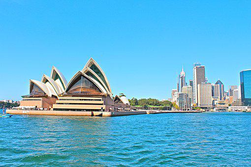 Australia, Sydney, Opera, City, Port, Skyline