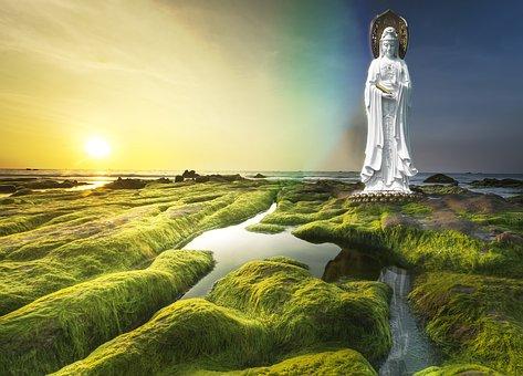 Avalokiteshvara, Sasa, Ssa, Buddha, Quan Yin, Water