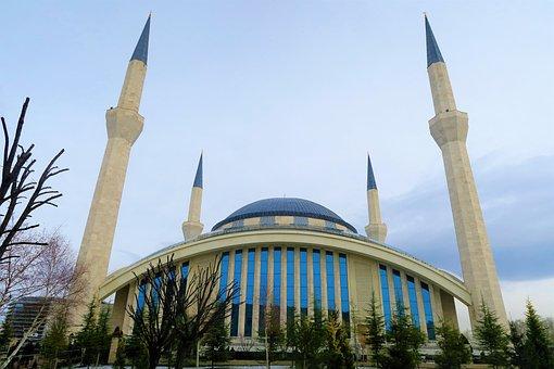 Cami, Architecture, Islam, Minaret, Religion, Travel